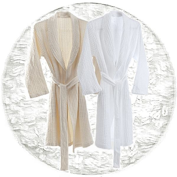 Abyss & Habidecor Pousada Bath Robe, 100% Egyptian Giza 70 cotton, 300 g/m², Size M, 100 White