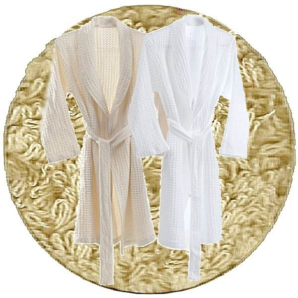 Abyss & Habidecor Pousada Bath Robe, 100% Egyptian Giza 70 cotton, 300 g/m², Size M, 770 Linen