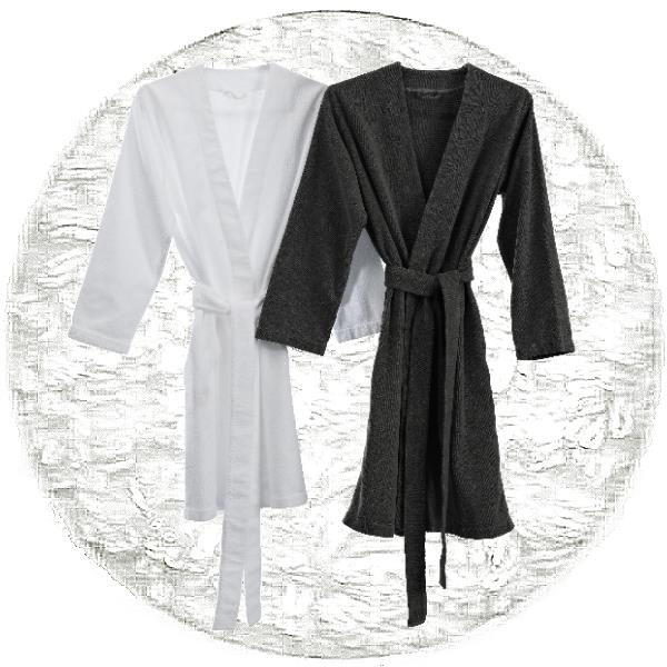Abyss & Habidecor Spa Bath Robe, 100% Egyptian Giza 70 cotton, 350 g/m², Size S, 100 White