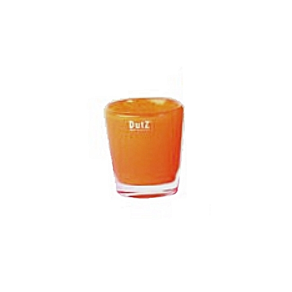 DutZ®-Collection Vase Conic, H 11  x  Ø 9,5 cm, Rotorange