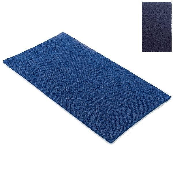 Abyss & Habidecor Bath Mat Bay, 60 x 100 cm, 100% Egyptian Giza 70 cotton, combed, 332 Cadette Blue