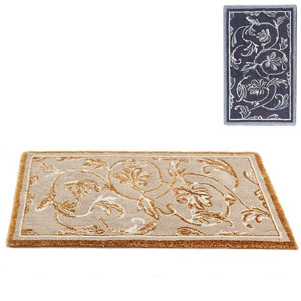 Abyss & Habidecor Badematte Dynasty, 60 x 100 cm, 80% Baumwolle, gekämmt, 10% Acryl, 10% Lurex, 993 Metal