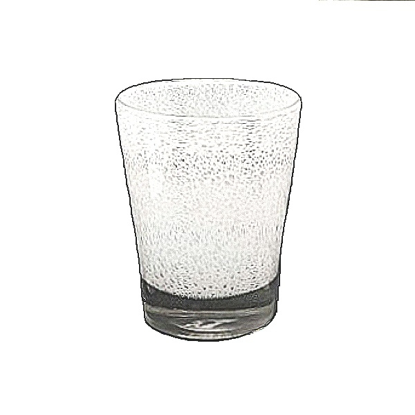 DutZ®-Collection Vase Conic with bubbles, h 24  x  Ø.19 cm, white