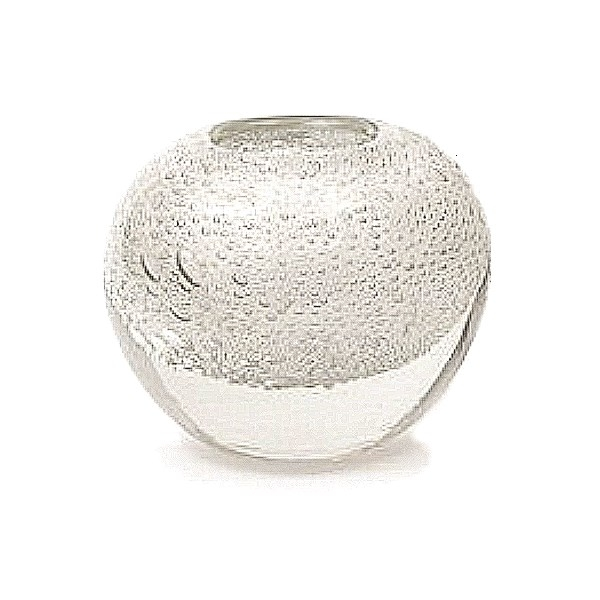 DutZ®-Collection Vase Bubble Ball, H 13,5 x Ø 13,5 cm, Weiß