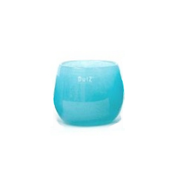 Collection DutZ ® vase/récipient Pot, h 11 x Ø 13 cm, aqua