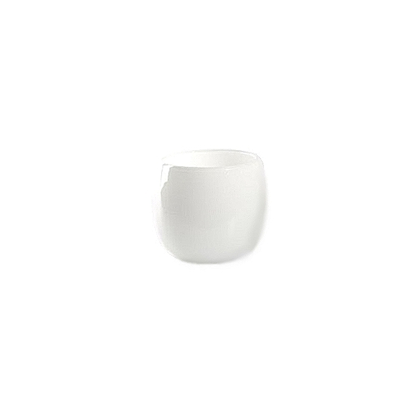 DutZ®-Collection Vase Pot Mini, H 7 x Ø 10 cm, Weiß