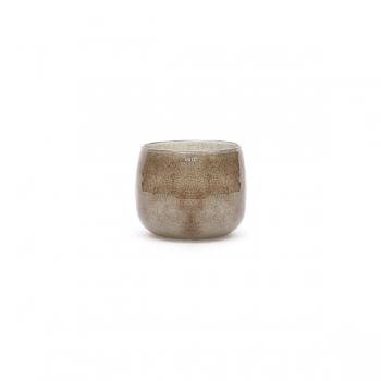 Collection DutZ ® vase/récipient Pot Mini, h 7 x Ø 10 cm, gris/marron