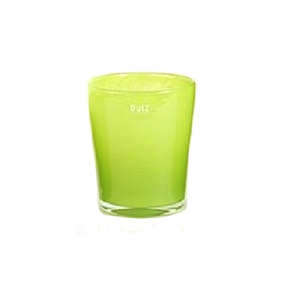 Collection DutZ ® vase Conic, h 14 x Ø 12 cm, lime
