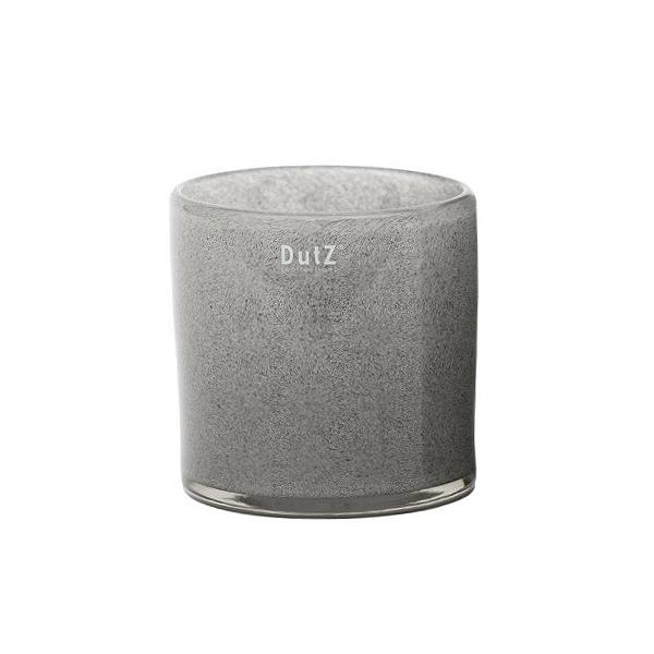 DutZ®-Collection Vase Cylinder, H 14 x Ø 14 cm, Mittelgrau