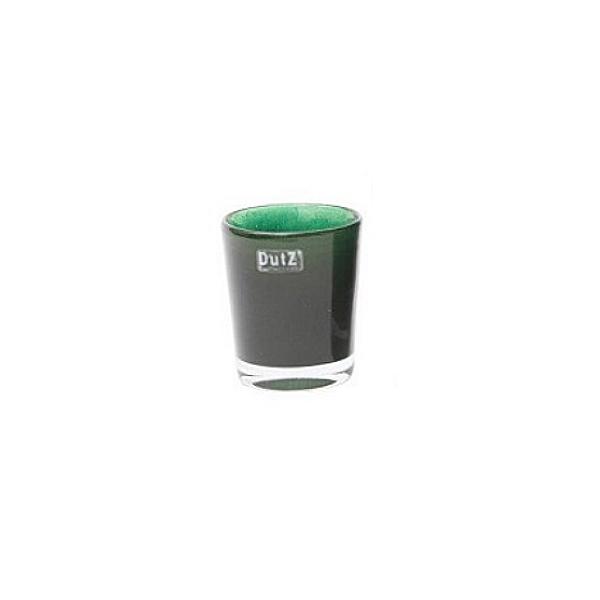 Collection DutZ ® vase Conic, h 11 x Ø 9.5 cm, denim