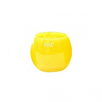 Collection DutZ ® vase/récipient Pot, h 11 x Ø 13 cm, jaune