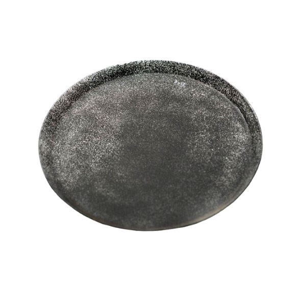 DutZ®-Collection glass plate/tray, Ø 28 cm, grey