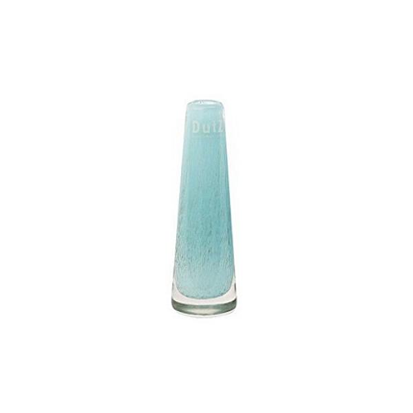 DutZ®-Collection Vase Solifleur, konisch, H 15 x Ø 5 cm, Aqua