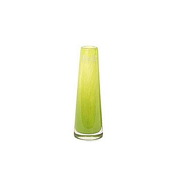 DutZ®-Collection Vase Solifleur, konisch, H 15 x Ø 5 cm, Lime