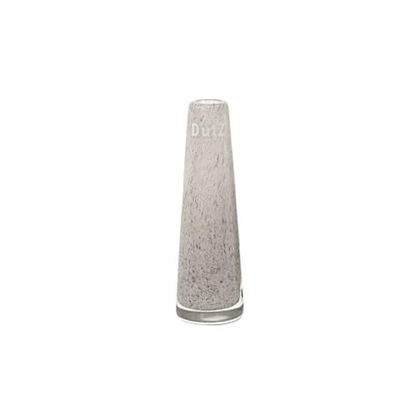 DutZ®-Collection Vase Solifleur, konisch, H 15 x Ø 5 cm, Mittelgrau