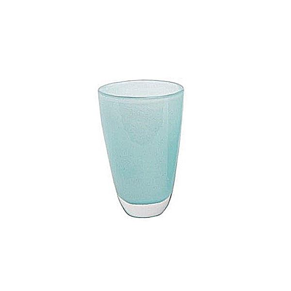 DutZ®-Collection Blumenvase, H 21 x Ø 13 cm, Hellblau