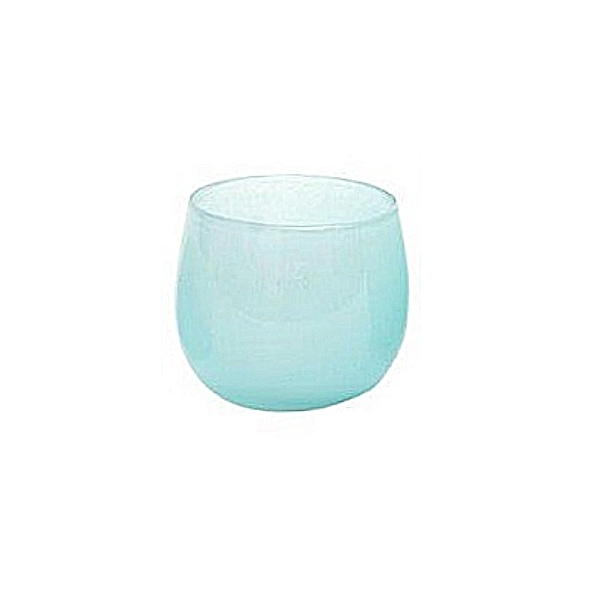 DutZ®-Collection Vase Pot, H 11 x Ø 13 cm, Hellblau