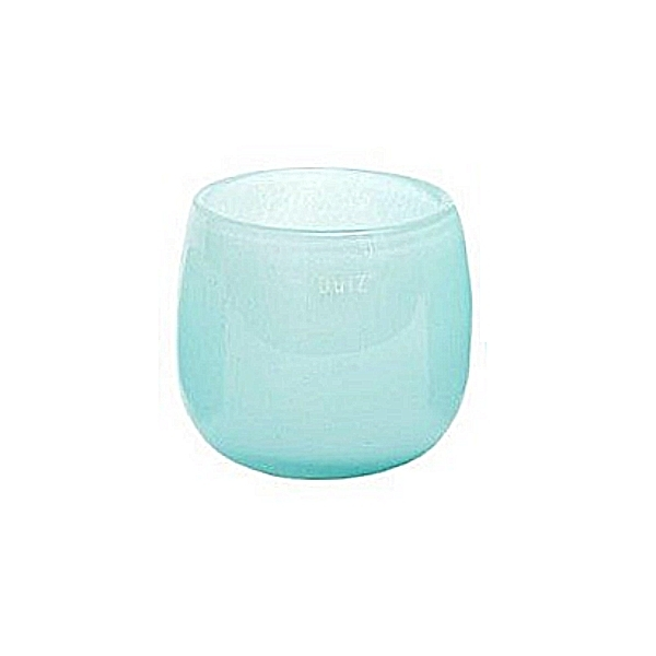Collection DutZ® vase/récipient Pot, h 14 x Ø 16 cm, bleu clair
