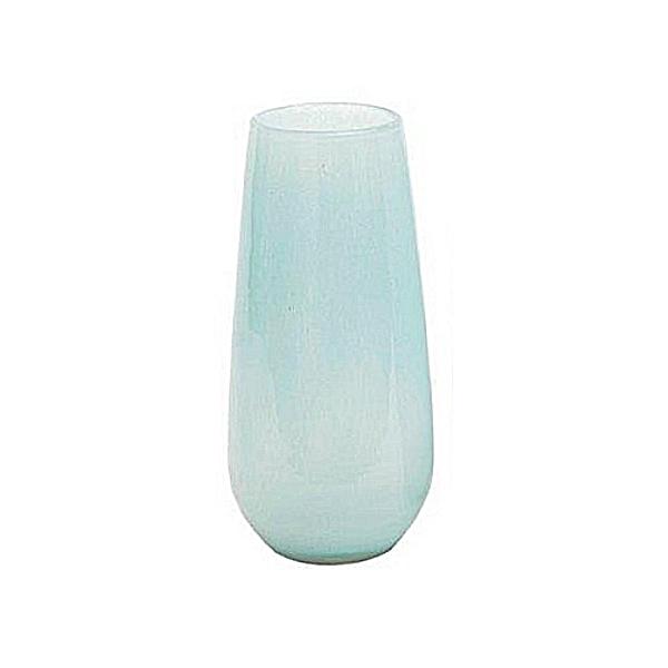 Collection DutZ® Vase Robert, h 37 x Ø 11 cm, bleu clair