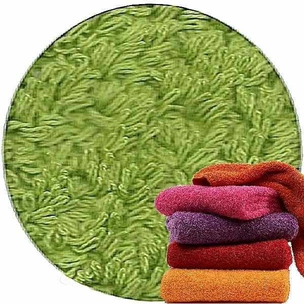 Abyss & Habidecor Super Pile Frottee-Gästetuch/Waschlappen, 30 x 30 cm, 100% ägyptische Giza 70 Baumwolle, 700g/m², 165 Apple Green