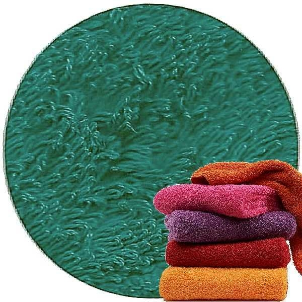 Abyss & Habidecor Super Pile Terry Cloth Guest Towel/Washcloth, 30 x 30 cm, 100% Egyptian Giza 70 Cotton, 700g/m², 301 Peacock