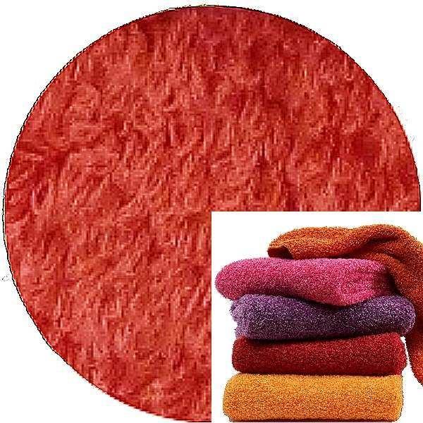 Abyss & Habidecor Super Pile Terry Cloth Guest Towel/Washcloth, 30 x 30 cm, 100% Egyptian Giza 70 Cotton, 700g/m², 556 Cayenne