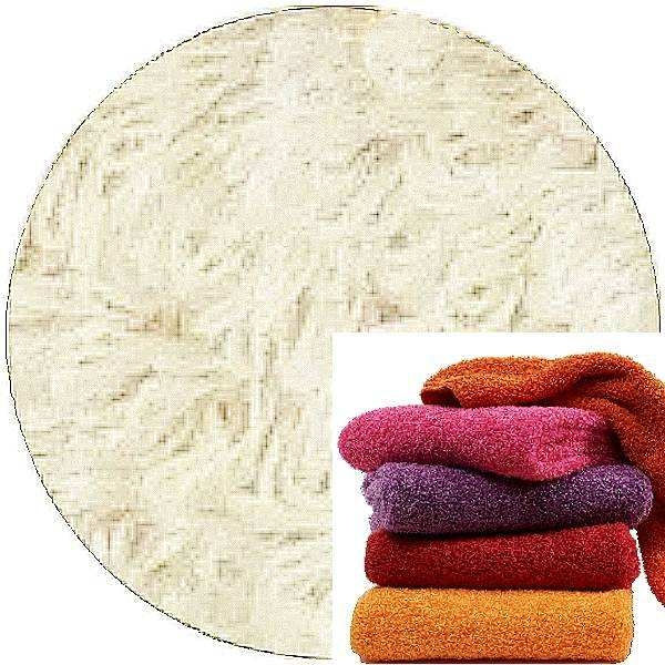 Abyss & Habidecor Super Pile Terry Cloth Guest Towel/Washcloth, 30 x 30 cm, 100% Egyptian Giza 70 Cotton, 700g/m², 610 Nude