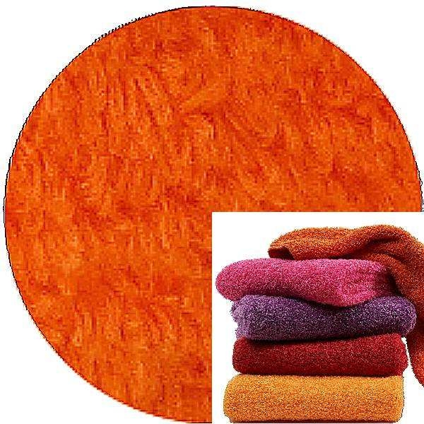 Abyss & Habidecor Super Pile Terry Cloth Guest Towel/Washcloth, 30 x 30 cm, 100% Egyptian Giza 70 Cotton, 700g/m², 611 Vibrant