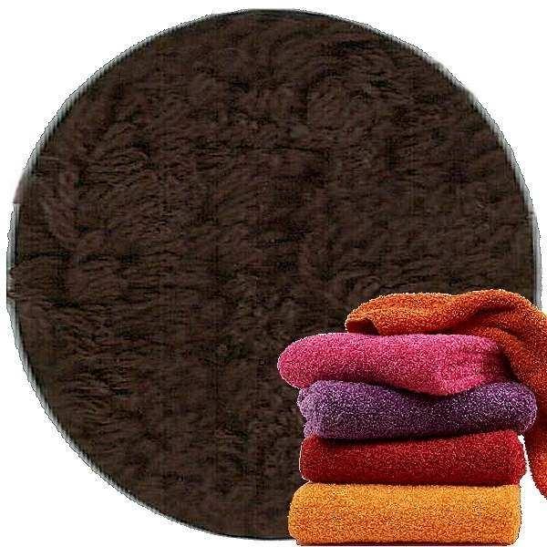Abyss & Habidecor Super Pile Frottee-Gästetuch/Waschlappen, 30 x 30 cm, 100% ägyptische Giza 70 Baumwolle, 700g/m², 772 Dark Brown