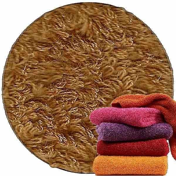 Abyss & Habidecor Super Pile Terry Cloth Guest Towel/Washcloth, 30 x 30 cm, 100% Egyptian Giza 70 Cotton, 700g/m², 840 Gold