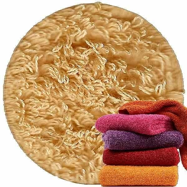Abyss & Habidecor Super Pile Terry Cloth Guest Towel/Washcloth, 30 x 30 cm, 100% Egyptian Giza 70 Cotton, 700g/m², 885 Camel