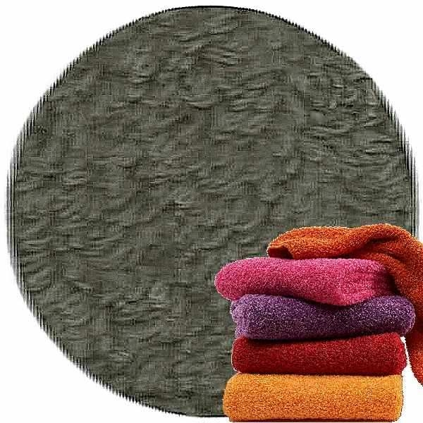 Abyss & Habidecor Super Pile Terry Cloth Guest Towel/Washcloth, 30 x 30 cm, 100% Egyptian Giza 70 Cotton, 700g/m², 920 Gris