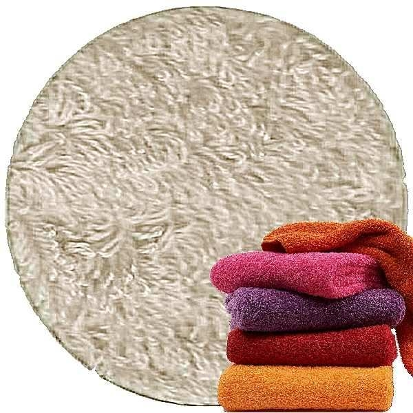 Abyss & Habidecor Super Pile Terry Cloth Guest Towel/Washcloth, 30 x 30 cm, 100% Egyptian Giza 70 Cotton, 700g/m², 950 Cloud