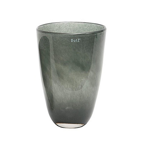 Collection DutZ ® Vase, h 32 cm x Ø 21 cm, cendreuse