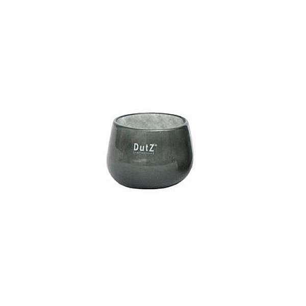 DutZ®-Collection Vase Pot Mini, H 7 x Ø 10 cm, Aschgrau