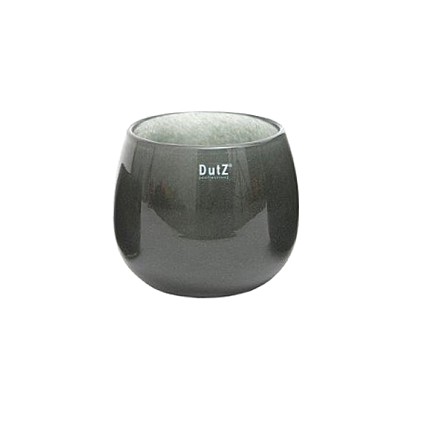 Collection DutZ ® vase/récipient Pot, h 14 x Ø 16 cm, cendreuse