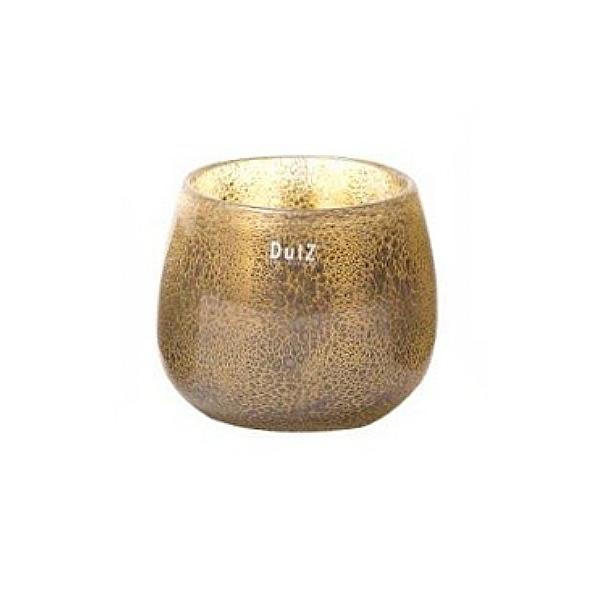 dutz collection vase pot h 14 x 16 cm silber braun. Black Bedroom Furniture Sets. Home Design Ideas