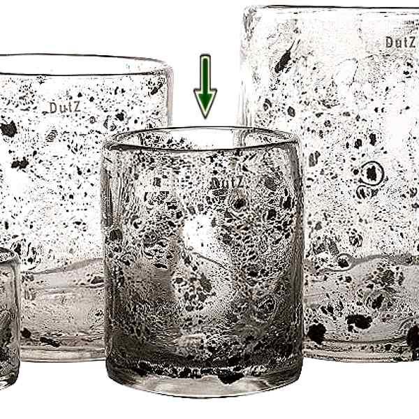 dutz collection vase cylinder h 19 x 15 cm klar mit. Black Bedroom Furniture Sets. Home Design Ideas