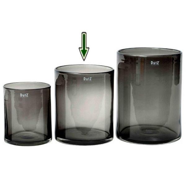 dutz collection vase cylinder h 25 x 20 cm smoke 106850. Black Bedroom Furniture Sets. Home Design Ideas