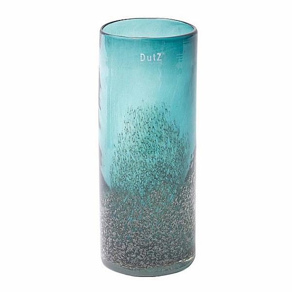 dutz collection vase cylinder h 30 x 12 cm pinie mit bubbles 107050. Black Bedroom Furniture Sets. Home Design Ideas