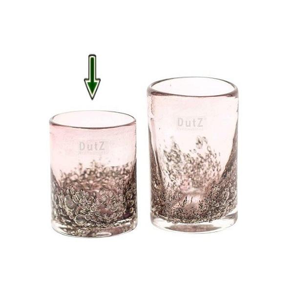 dutz collection vase cylinder h 10 x 9 cm aubergine. Black Bedroom Furniture Sets. Home Design Ideas