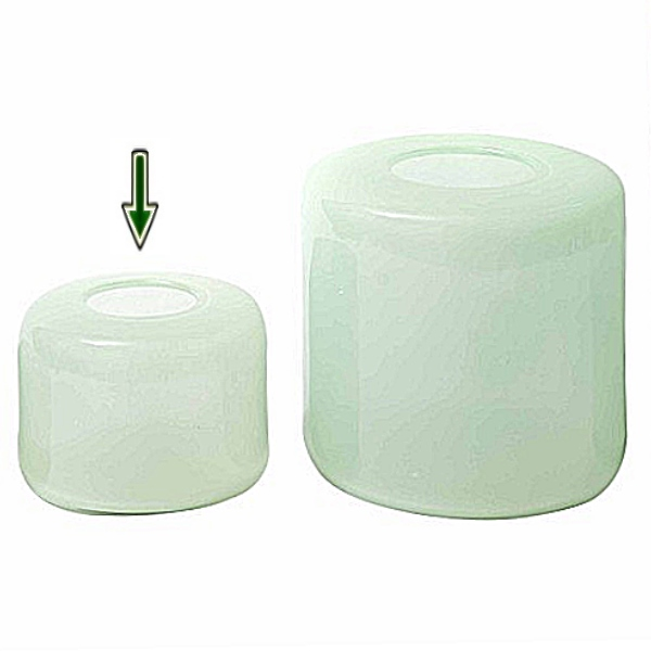 dutz collection vase mira h 17 x 23 cm menthol 107081. Black Bedroom Furniture Sets. Home Design Ideas