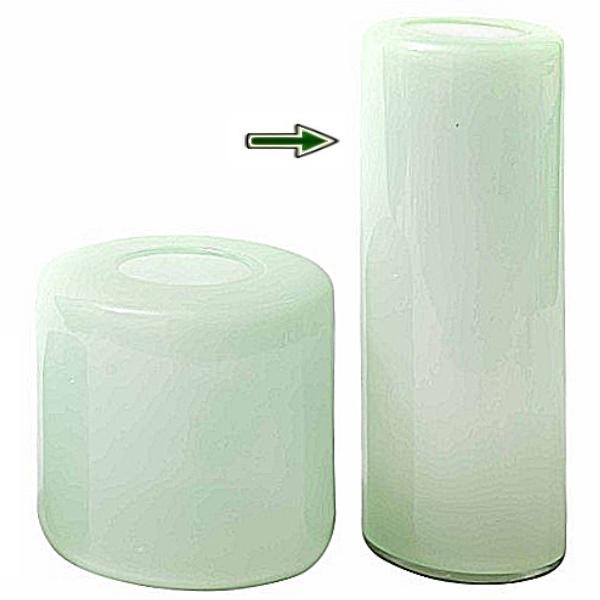dutz collection vase mira h 58 x 20 cm menthol 107083. Black Bedroom Furniture Sets. Home Design Ideas