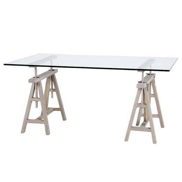 eichholtz design konsolen schreibtisch rechteckig h henvariabel h 64 95. Black Bedroom Furniture Sets. Home Design Ideas