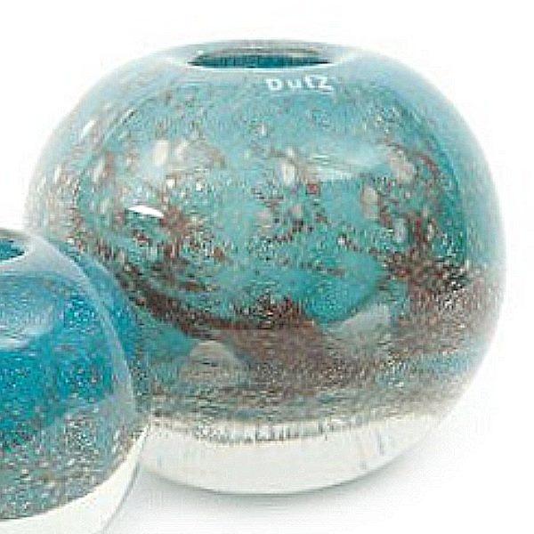 dutz collection vase bubble ball h 20 x 20 cm blue. Black Bedroom Furniture Sets. Home Design Ideas