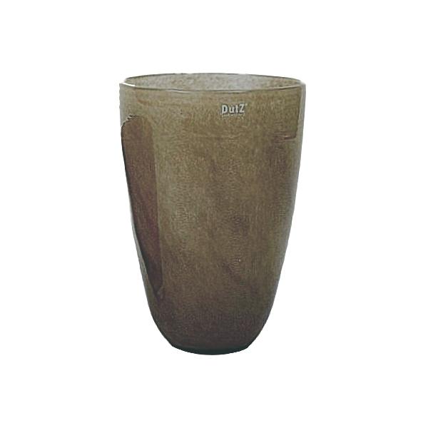 dutz collection blumenvase h 32 x 21 cm braun 105527. Black Bedroom Furniture Sets. Home Design Ideas