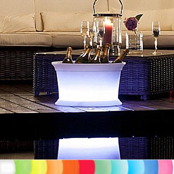 8 seasons design leuchtobjekt getr nkek hler wei 50 x h 29 cm indoor outdoor led farbw. Black Bedroom Furniture Sets. Home Design Ideas