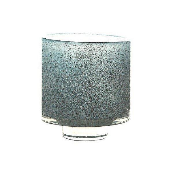 dutz collection vase windlicht diva h 17 x 16 cm aqua mit bubbles 105973. Black Bedroom Furniture Sets. Home Design Ideas