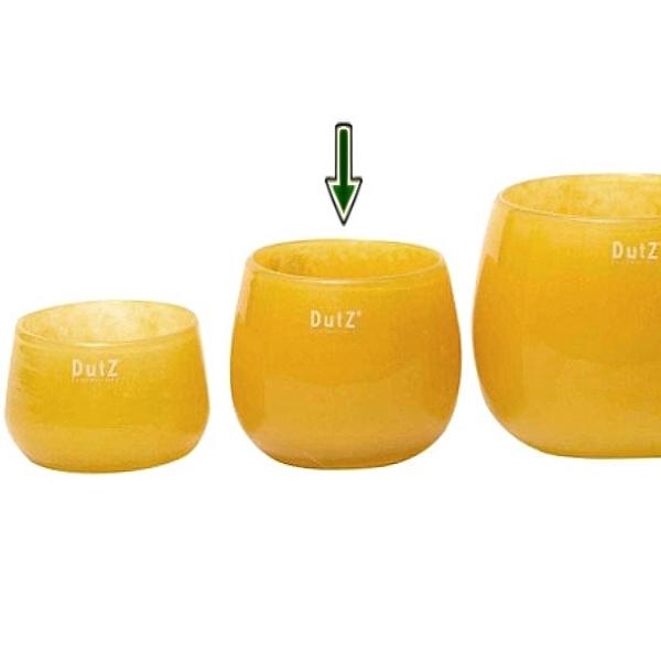 dutz collection vase pot h 11 x 13 cm ochreous 106840. Black Bedroom Furniture Sets. Home Design Ideas
