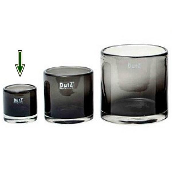dutz collection windlicht votive h 7 x 7 cm smoke 106846. Black Bedroom Furniture Sets. Home Design Ideas